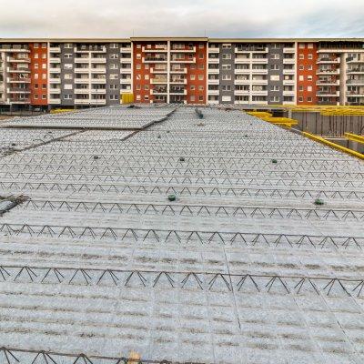 90 lakásos társasház építés