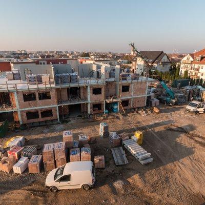 Társasház építés több ütemben