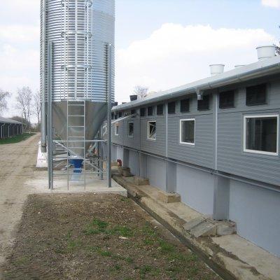 Mezőgazdasági csarnok építése - Pötréte