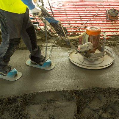 Estrich betonozás - Győr