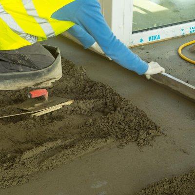 Estrich beton